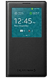 Samsung N9000 Galaxy Note 3 Orjinal Pencereli Siyah Flip Cover
