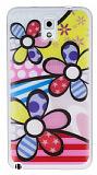 Samsung N9000 Galaxy Note 3 Renkli �i�ek Ultra �nce Silikon K�l�f