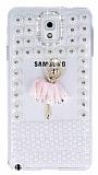 Samsung N9000 Galaxy Note 3 Ta�l� Balerin Rubber K�l�f