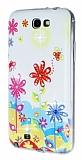 Samsung N7100 Galaxy Note 2 Ta�l� �i�ek Silikon K�l�f