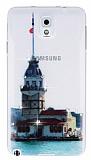 Samsung N9000 Galaxy Note 3 Ta�l� K�zkulesi Ultra �nce Silikon K�l�f