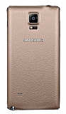 Samsung N9100 Galaxy Note 4 Orjinal Bronz Batarya Kapağı