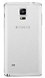 Samsung N9100 Galaxy Note 4 Orjinal Beyaz Batarya Kapağı