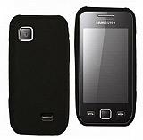 Samsung S5253 Wave 525 Siyah Silikon K�l�f