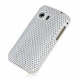 Samsung S5360 Galaxy Y Beyaz Delikli K�l�f