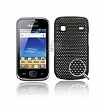 Samsung S5660 Galaxy Gio Siyah Delikli K�l�f