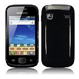 Samsung S5660 Galaxy Gio Siyah Sert Parlak K�l�f
