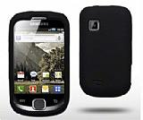 Samsung S5670 Galaxy Fit Siyah Silikon K�l�f