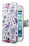 Samsung S7562 / S7560 / S7580 Bird C�zdanl� Yan Kapakl� K�l�f