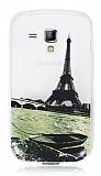 Samsung S7562 / S7560 / S7580 Eiffel Kulesi Ultra �nce Silikon K�l�f