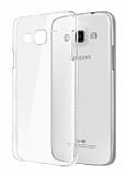 Samsung Grand Prime / Grand Prime Plus Orijinal Silikon Şeffaf Arka Kapak