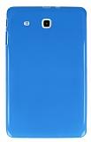Samsung T560 Galaxy Tab E Mavi Silikon Kılıf