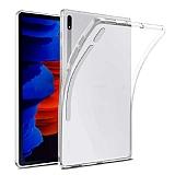 Samsung Galaxy Tab S7 Plus T970 Şeffaf Silikon Kılıf