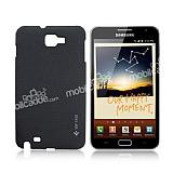 Samsung N7000 Galaxy Note Siyah Sert Rubber K�l�f