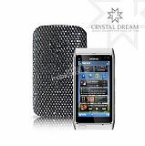 Siyah Ta�l� Nokia N8 K�l�f