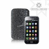 Siyah Swarovski Ta�l� Samsung Galaxy S Siyah K�l�f