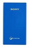 Sony CP-V5A Orjinal 5000 mAh Powerbank Mavi Yedek Batarya