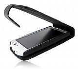 Sony Ericsson Xperia Neo Siyah Kapaklı Deri Kılıf