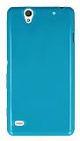 Sony Xperia C4 Ye�il Silikon K�l�f