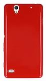 Sony Xperia C4 Kırmızı Silikon Kılıf