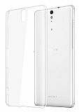 Sony Xperia C5 Ultra Şeffaf Kristal Kılıf