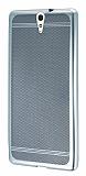 Sony Xperia C5 Ultra Specked Silver Silikon Kılıf