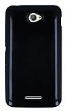 Sony Xperia E4 Siyah Silikon K�l�f