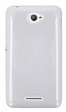 Sony Xperia E4 �effaf Silikon K�l�f