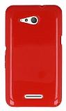 Sony Xperia E4g Kırmızı Silikon Kılıf