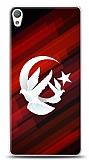 Sony Xperia E5 Güvercinli Bayrak Kılıf
