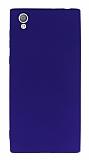 Sony Xperia L1 Mat Mor Silikon Kılıf
