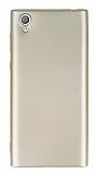 Sony Xperia L1 Mat Gold Silikon Kılıf
