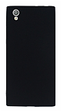 Sony Xperia L1 Mat Siyah Silikon Kılıf