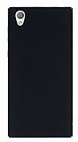Sony Xperia L1 Tam Kenar Koruma Siyah Rubber Kılıf