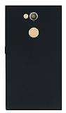 Sony Xperia L2 Mat Siyah Silikon Kılıf