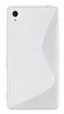 Sony Xperia M4 Aqua Desenli �effaf Silikon K�l�f