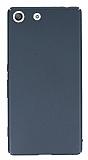 Sony Xperia M5 Tam Kenar Koruma Füme Rubber Kılıf