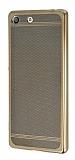 Sony Xperia M5 Specked Gold Silikon K�l�f