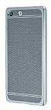 Sony Xperia M5 Specked Silver Silikon Kılıf