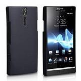 Sony Xperia S Siyah Sert Rubber K�l�f