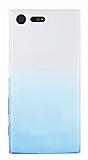 Sony Xperia X Compact Geçişli Mavi Silikon Kılıf