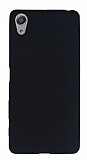Sony Xperia X Performance Mat Siyah Silikon Kılıf