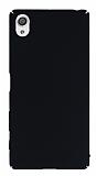 Sony Xperia X Tam Kenar Koruma Siyah Rubber Kılıf