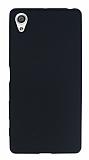 Sony Xperia XA Mat Siyah Silikon Kılıf