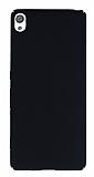 Sony Xperia XA Tam Kenar Koruma Siyah Rubber Kılıf