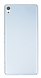 Sony Xperia XA Ultra Tam Kenar Koruma Silver Rubber Kılıf
