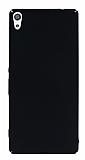 Sony Xperia XA Ultra Tam Kenar Koruma Siyah Rubber Kılıf