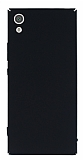 Sony Xperia XA1 Tam Kenar Koruma Siyah Rubber Kılıf