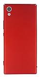 Sony Xperia XA1 Tam Kenar Koruma Kırmızı Rubber Kılıf