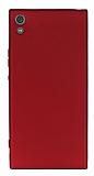 Sony Xperia XA1 Ultra Mat Kırmızı Silikon Kılıf